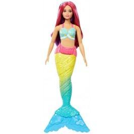 MATTEL Barbie mořská panna - růžové vlasy