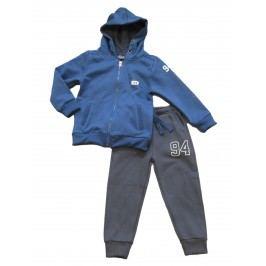 Carodel Chlapecká tepláková souprava - modro-šedá