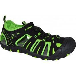 LOAP Chlapecké sandály Inity - černo-zelené