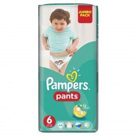 Pampers Pants plenkové kalhotky 6 Extra Large (16-22 kg), 44 ks