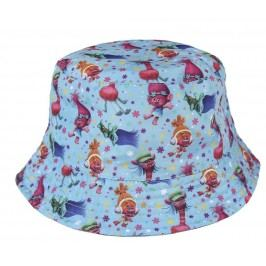 Disney Brand Dívčí klobouček Trollové - modrý
