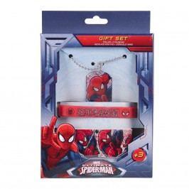 Disney Brand Dětský set doplňků Spiderman - červený