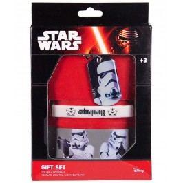 Disney Brand Chlapecký set doplňků Star Wars - stříbrný