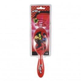Disney Brand Dívčí sada na vlasových doplňků Ladybug - červená
