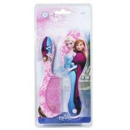 Disney Brand Dívčí sada 2 ks hřebenů Frozen - růžová/fialová
