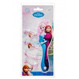Disney Brand Dívčí sada hřebenu a gumiček Frozen