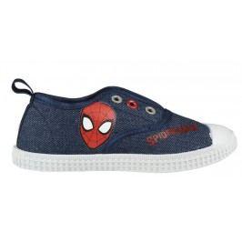 Disney Brand Chlapecké plátěné tenisky Spiderman - modré