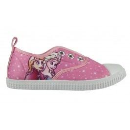 Disney Brand Dívčí plátěné tenisky Frozen - růžové