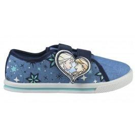 Disney Brand Dívčí plátěné tenisky Frozen - modré