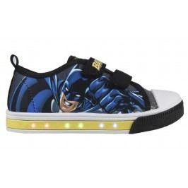 Disney Brand Chlapecké blikací tenisky Batman - modro-šedé
