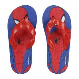 Disney Brand Chlapecké žabky Spiderman - modro-červené