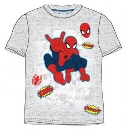 E plus M Chlapecké tričko Spiderman - šedé