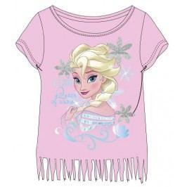 E plus M Dívčí tričko Frozen - růžové