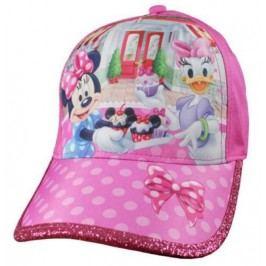 E plus M Dívčí kšiltovka Minnie - růžová