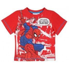 E plus M Chlapecké tričko Spiderman - červené