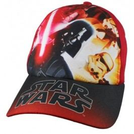 E plus M Chlapecká kšiltovka Star Wars - červená