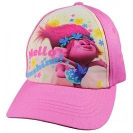 E plus M Dívčí kšiltovka Trollové - růžová
