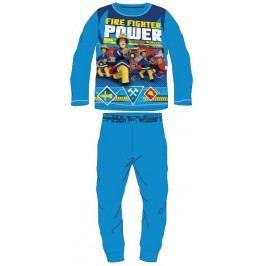 E plus M Chlapecké pyžamo požárník Sam - modré