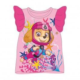Disney Brand Dívčí tílko Paw Patrol - růžové