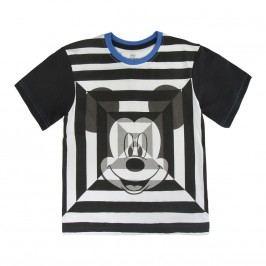 Disney Brand Chlapecké tričko Mickey Mouse - černo-bílé