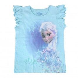 Disney Brand Dívčí tílko Frozen - tyrkysové