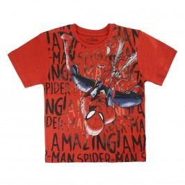 Disney Brand Chlapecké tričko Spiderman - červené