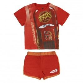 Disney Brand Chlapecký set trička a kraťasů Cars 3 - červený