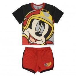 Disney Brand Chlapecký set trička a kraťasů Mickey Mouse - barevný