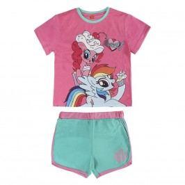 Disney Brand Dívčí set kraťasů a trička My Little Pony - barevný