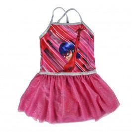 Disney Brand Dívčí šaty Ladybug - růžové