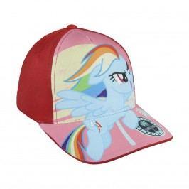 Disney Brand Dívčí kšiltovka My Little Pony - červená