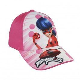 Disney Brand Dívčí kšiltovka Ladybug - růžová