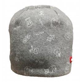 Broel Chlapecká čepice Boy - šedá