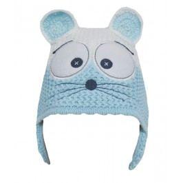 EKO Dívčí čepice Myška - modrá