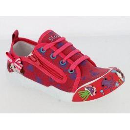 V+J Dívčí tenisky s obrázky - červené