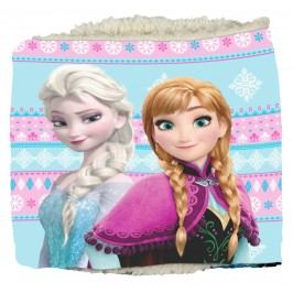 E plus M Dívčí nákrčník Frozen - modro-růžový