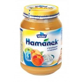 Hamánek S broskvemi a tvarohem 6x190g