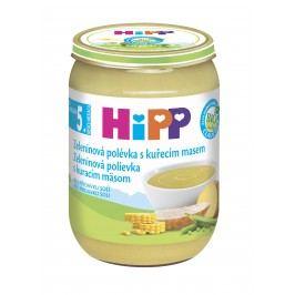 HiPP BIO Zeleninová polévka s kuřecím masem 6x190g