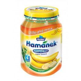 Hamánek HAPPYFRUIT 100% ovoce s banány 6x190g