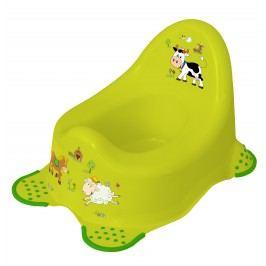 Keeeper Nočník Funny Farm, zelený