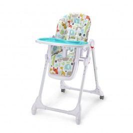 Petite&Mars Židlička jídelní Zola modrá