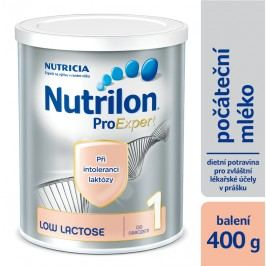 Nutrilon kojenecké mléko 1 Low Lactose 400g