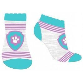 E plus M Dívčí ponožky s ťapkou Paw Patrol - tyrkysové