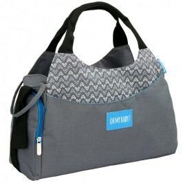 Badabulle přebalovací taška MULTIPOCKET Grey