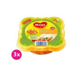 Hami Příkrm Malý Gurmán, rajčata, makarony, kuře 3x230g