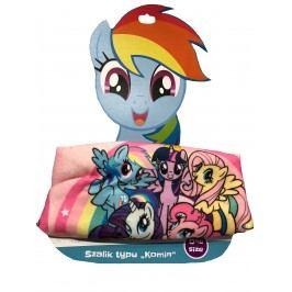 E plus M Dívčí nákrčník My little pony - barevný