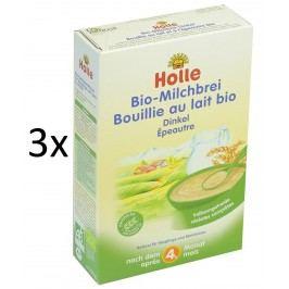 Holle BIO špaldová mléčná kaše 3x250g
