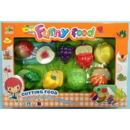 Mac Toys Set potravin na suchý zip