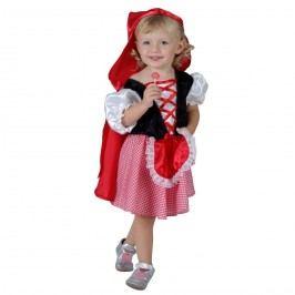 MaDe Šaty na karneval - Červená Karkulka, 92-104 cm