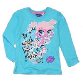 E plus M Dívčí tričko Littlest Pet Shop, tyrkysové